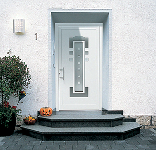 двери входные варианты установки